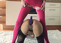 22yo sultry babes trample their..