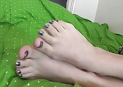 Silken Toes Coaxing