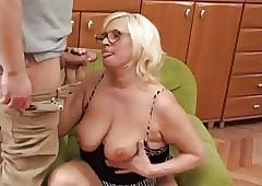 Fat Beauteous Granny Fucks..