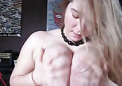 Tow-haired Teen Blowjob &..