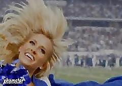 Dallas Cowboys cheerleader Toby..
