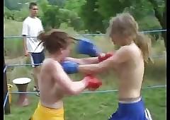 Go-go Academy Cheerleader Fight..