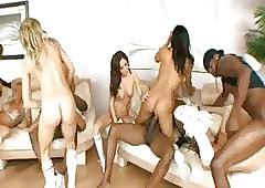 Astounding Orgy: Cheerleaders..