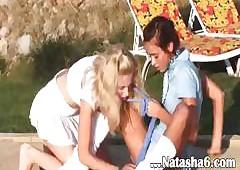 Natashas poolside sport