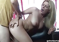Untrained buckle creampies