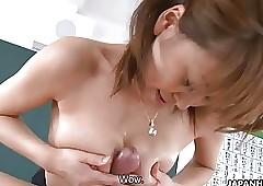 Asian crammer blowjob together..