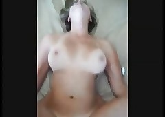 Obese boobed tie the knot..