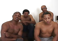 4 Tall Ebony Cocks - 1 Underfed..