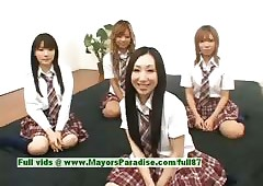 Japanese V girls enjoyment and..